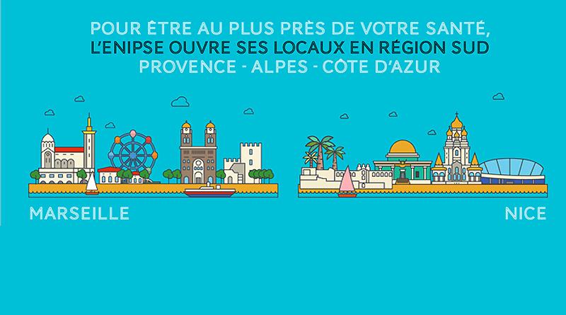Nice, Marseille, deux lieux pour une meilleure prise en charge de nos publics